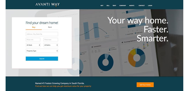 Avanti Way New website